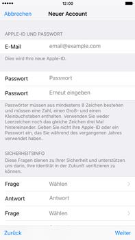 Apple iPhone 6 Plus - Apps - Konto anlegen und einrichten - 23 / 38