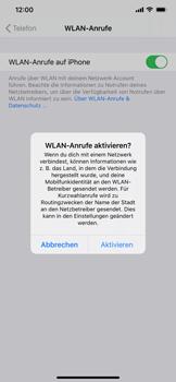 Apple iPhone 11 - iOS 14 - WiFi - WiFi Calling aktivieren - Schritt 7