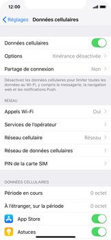 Apple iPhone XS - Securité - Modifier le code PIN de la carte SIM - Étape 4