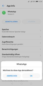 Huawei Y7 (2018) - Apps - Eine App deinstallieren - Schritt 7