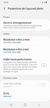 Samsung Galaxy A20e - Photos, vidéos, musique - Créer une vidéo - Étape 8