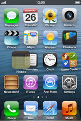 Apple iPhone 3GS - Getting started - personalising your Start screen - Step 3
