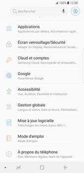 Samsung Galaxy S8 - Android Oreo - Logiciels - Installation de mises à jour - Étape 5