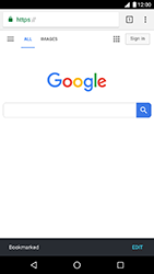 LG Nexus 5X - Android Oreo - Internet - Internet browsing - Step 9