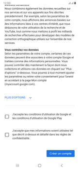 Samsung Galaxy Note20 Ultra 5G - Applications - Créer un compte - Étape 16