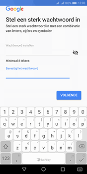 Huawei Mate 10 Pro Dual-SIM (Model BLA-L29) - Applicaties - Account aanmaken - Stap 13