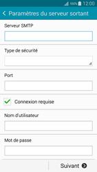 Samsung A300FU Galaxy A3 - E-mail - Configuration manuelle - Étape 13