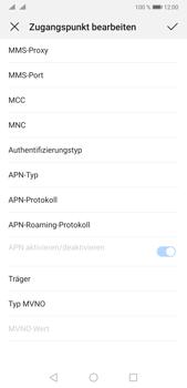 Huawei P20 Pro - Android Pie - Internet und Datenroaming - Manuelle Konfiguration - Schritt 12