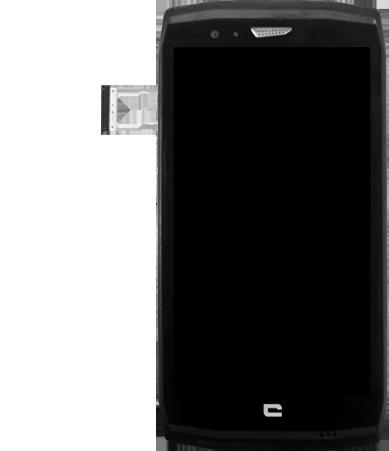 Crosscall Trekker X4 - Premiers pas - Insérer la carte SIM - Étape 5