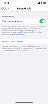 Apple iPhone 12 mini - toestel resetten - back-up maken met jouw account - stap 14