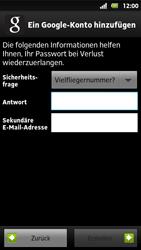 Sony Xperia Sola - Apps - Konto anlegen und einrichten - 11 / 19