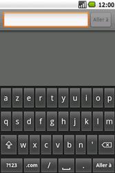 Samsung I5700 Galaxy Spica - Internet - navigation sur Internet - Étape 5
