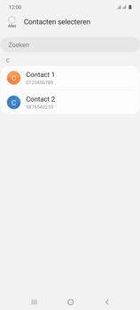 Samsung galaxy-s10-lite-dual-sim-sm-g770f - Contacten en data - Contacten kopiëren van toestel naar SIM - Stap 9