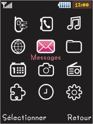Samsung S5050 Allure S - Messagerie vocale - Configuration manuelle - Étape 3