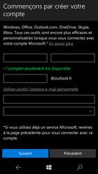 Microsoft Lumia 950 - Applications - Créer un compte - Étape 13
