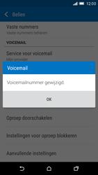 HTC One M9 - Voicemail - Handmatig instellen - Stap 10