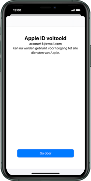 Apple iphone-11-model-a2221 - Applicaties - Account aanmaken - Stap 22
