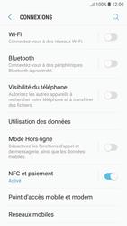 Samsung Galaxy A5 (2016) - Android Nougat - Internet et roaming de données - Comment vérifier que la connexion des données est activée - Étape 5