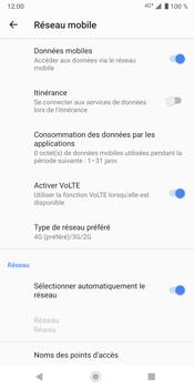 Sony Xperia XZ3 - Réseau - activer 4G - Étape 9