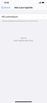 Apple iPhone 11 - iOS 14 - Logiciels - Installation de mises à jour - Étape 6