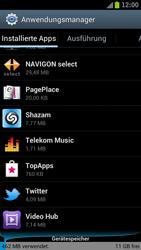 Samsung Galaxy S III LTE - Apps - Eine App deinstallieren - Schritt 5