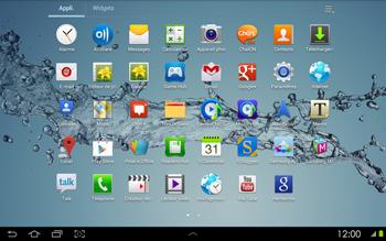 Samsung P5100 Galaxy Tab 2 10-1 - SMS - configuration manuelle - Étape 3