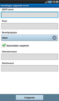 Samsung P1000 Galaxy Tab - E-mail - Instellingen KPNMail controleren - Stap 15