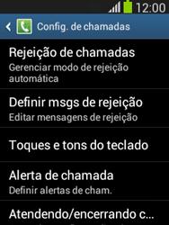 Samsung S5310B Galaxy Pocket Neo - Chamadas - Como bloquear chamadas de um número específico - Etapa 7
