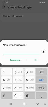 Samsung Galaxy S20 5G Dual-SIM eSIM SM-G981B - Voicemail - Handmatig instellen - Stap 9