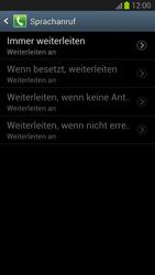 Samsung I9300 Galaxy S3 - Anrufe - Rufumleitungen setzen und löschen - Schritt 10