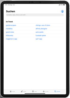 Apple iPad mini (2019) - iPadOS 13 - Apps - Installieren von Apps - Schritt 9