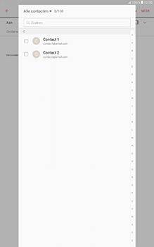 Samsung Galaxy Tab A 10.1 (SM-T585) - E-mail - Hoe te versturen - Stap 7