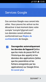 Samsung Samsung Galaxy J7 (2016) - E-mails - Ajouter ou modifier votre compte Gmail - Étape 15