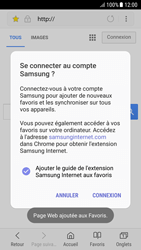 Samsung A510F Galaxy A5 (2016) - Android Nougat - Internet - Navigation sur Internet - Étape 10