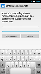 Alcatel One Touch Idol S - E-mail - Configuration manuelle - Étape 7