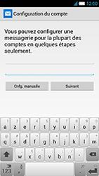 Alcatel One Touch Idol S - E-mail - Configuration manuelle - Étape 7