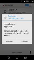 Sony Xperia E3 - Bluetooth - koppelen met ander apparaat - Stap 9