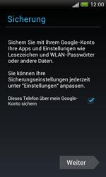 HTC One SV - Apps - Konto anlegen und einrichten - 15 / 18