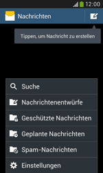 Samsung Galaxy Grand Neo - SMS - Manuelle Konfiguration - 5 / 9