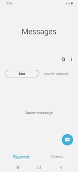 Samsung Galaxy S20+ - Contact, Appels, SMS/MMS - Envoyer un MMS - Étape 4