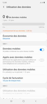 Samsung Galaxy Note 10 Lite - Internet et connexion - Désactiver la connexion Internet - Étape 6