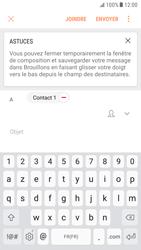 Samsung Galaxy S6 - Android Nougat - E-mail - envoyer un e-mail - Étape 7