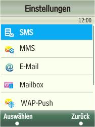 Samsung F480-TouchWiz - SMS - Manuelle Konfiguration - Schritt 5