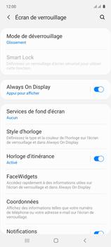 Samsung Galaxy A71 - Sécuriser votre mobile - Activer le code de verrouillage - Étape 5