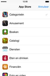 Apple iPhone 4S (iOS 8) - apps - app store gebruiken - stap 5