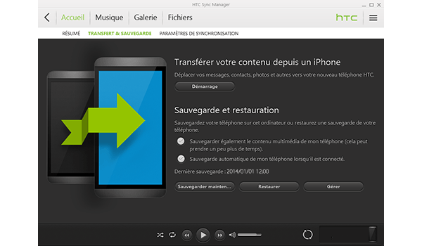 HTC One M9 - Logiciels - Comment effectuer une sauvegarde de votre appareil - Étape 8