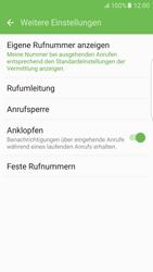 Samsung G925F Galaxy S6 edge - Android M - Anrufe - Rufumleitungen setzen und löschen - Schritt 7