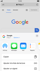Apple iPhone SE (2020) - Internet et roaming de données - Navigation sur Internet - Étape 17