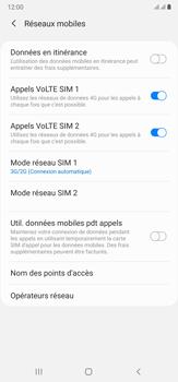 Samsung Galaxy Note 20 Ultra 5G - Réseau - Comment activer une connexion au réseau 4G - Étape 6