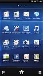 Sony Xperia Ray - E-mail - E-mails verzenden - Stap 3